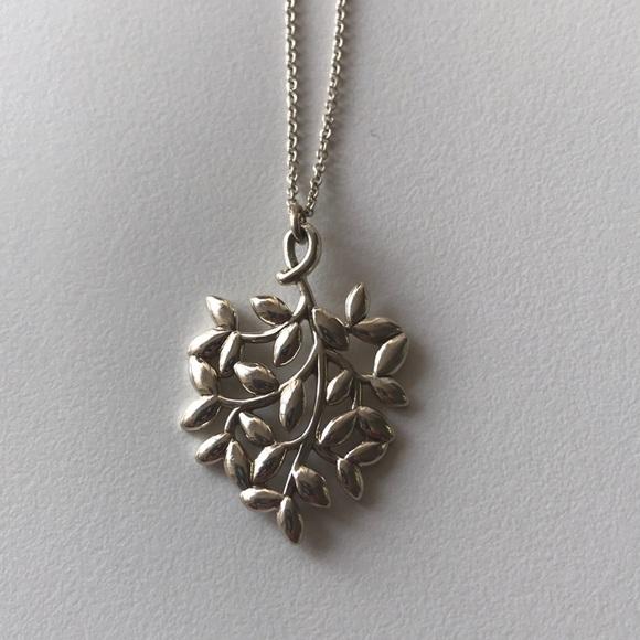4c6d3712e Tiffany & Co. Jewelry | Tiffanys Olive Leaf Pendant | Poshmark